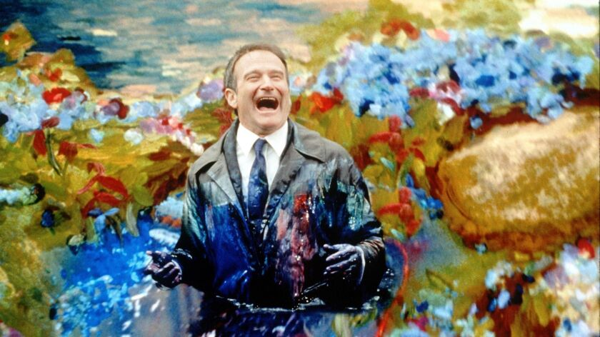 "Robin Williams in ""What Dreams May Come."""