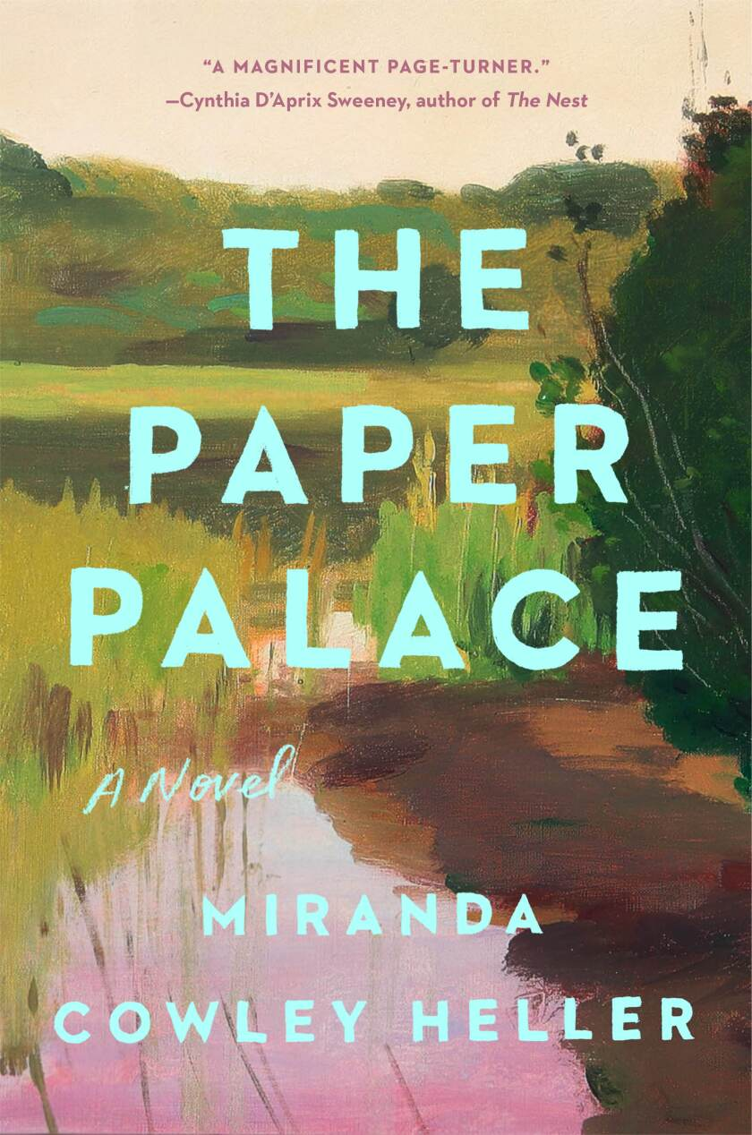 """The cover of the book """"The Paper Palace,"""" by Miranda Cowley Heller"""