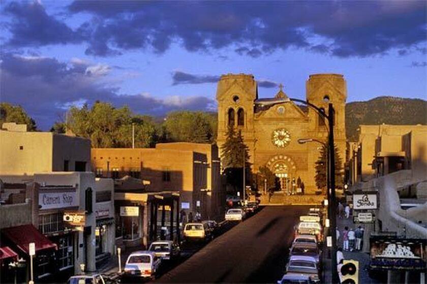 St. Francis Cathedral Basilica in Santa Fe, N.M.