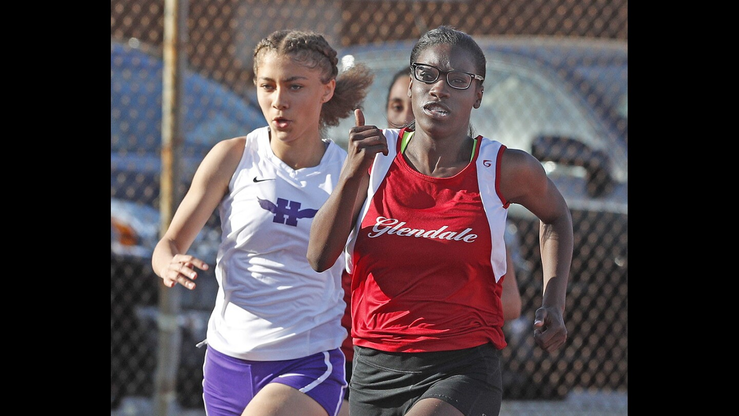 Photo Gallery: Glendale vs. Hoover in Pacific League track
