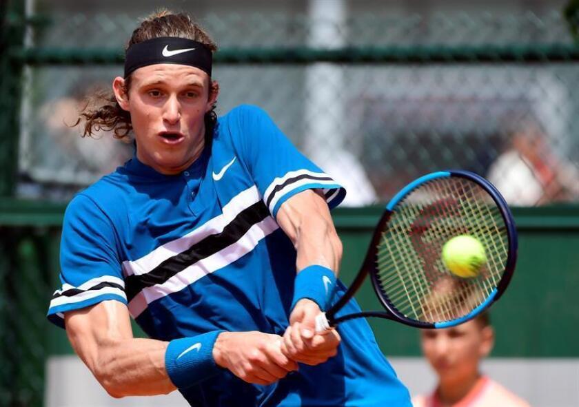 Nicolas Jarry, tenista chileno. EFE/Archivo