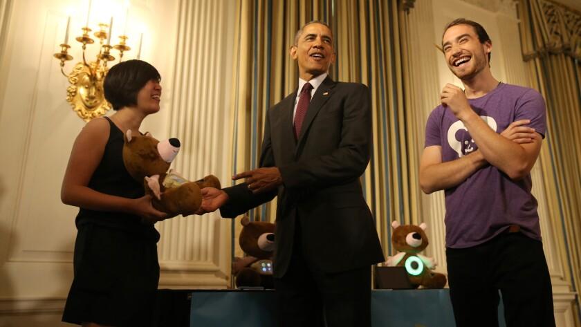 Barack Obama, Aaron Horowitz, Hannah Chung