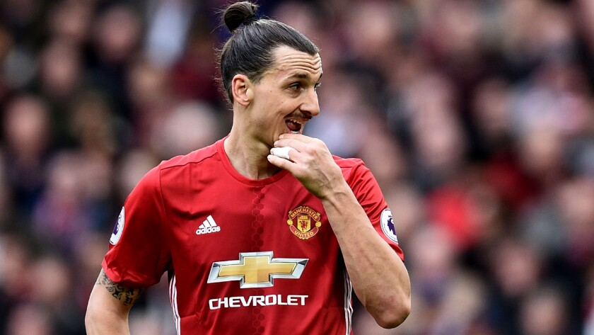 "Zlatan Ibrahimovic, who is recovering from a knee injury, said to expect a ""huge announcement soon"" regarding his playing future."