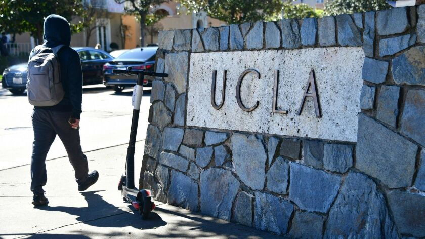 Documents show that years ago UCLA knew there were concerns about parents pledging donations to its athletic program in exchange for their children being admitted to the university in violation of rules prohibiting the practice.