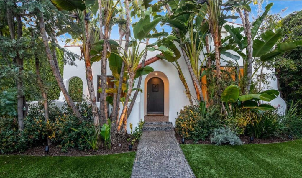 Sarah Rafferty's West Hollywood home