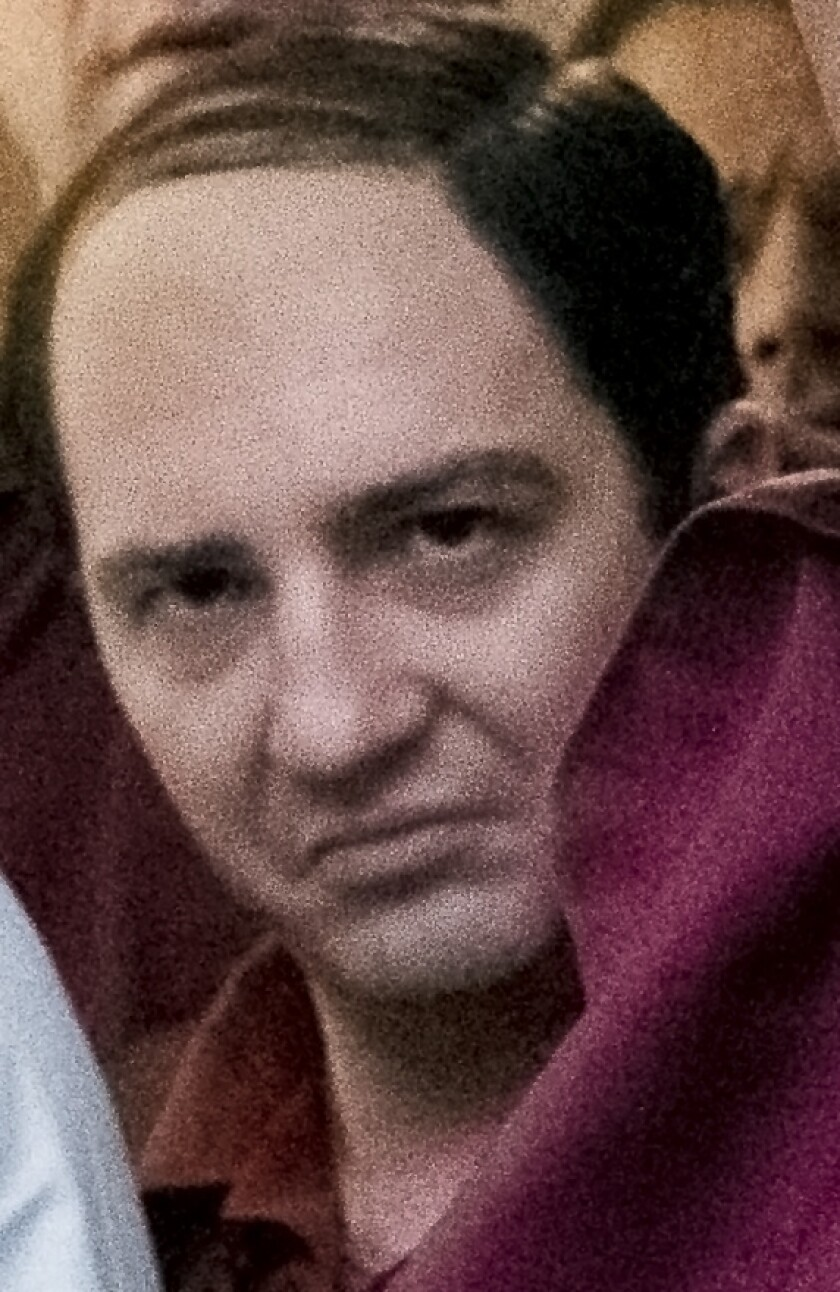 "John Magaro as Silvio Dante in ""The Many Saints of Newark."""