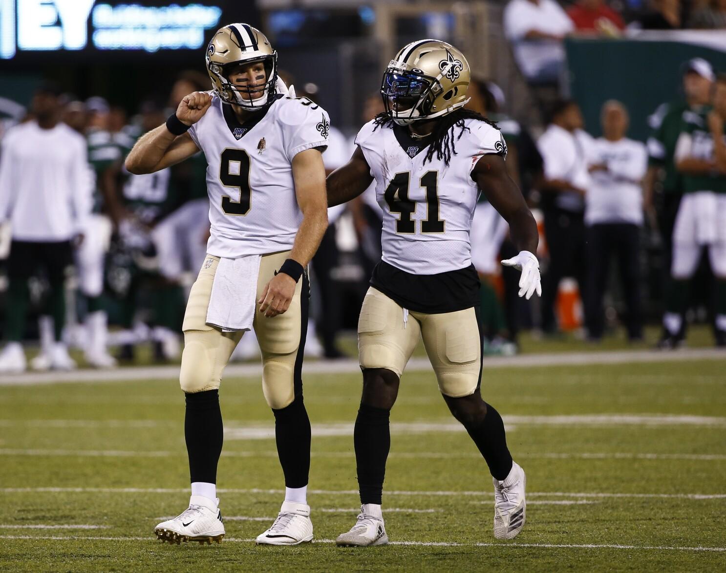 NFL preseason: Drew Brees is sharp in Saints' win over Jets; 49ers defeat Chiefs
