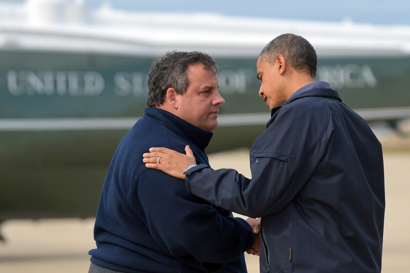President Obama and Chris Christie help themselves in '12 and '16