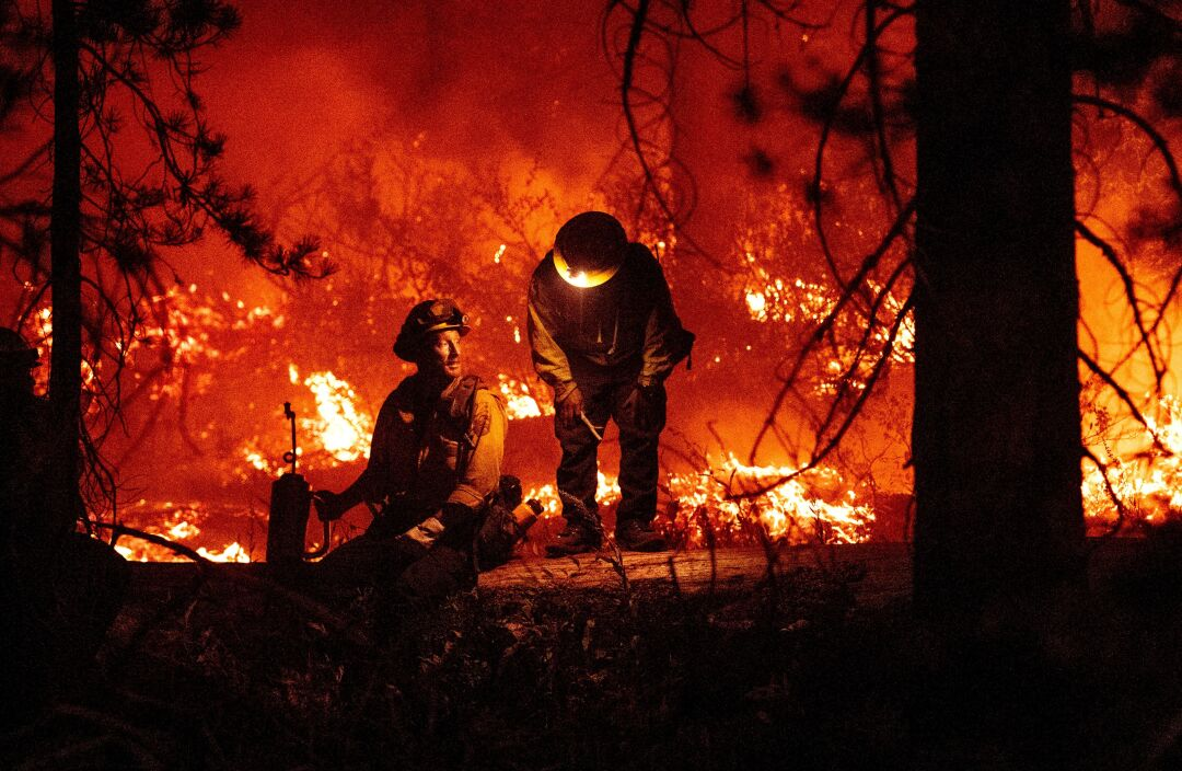 Photos: The Caldor fire, evacuations in South Lake Tahoe