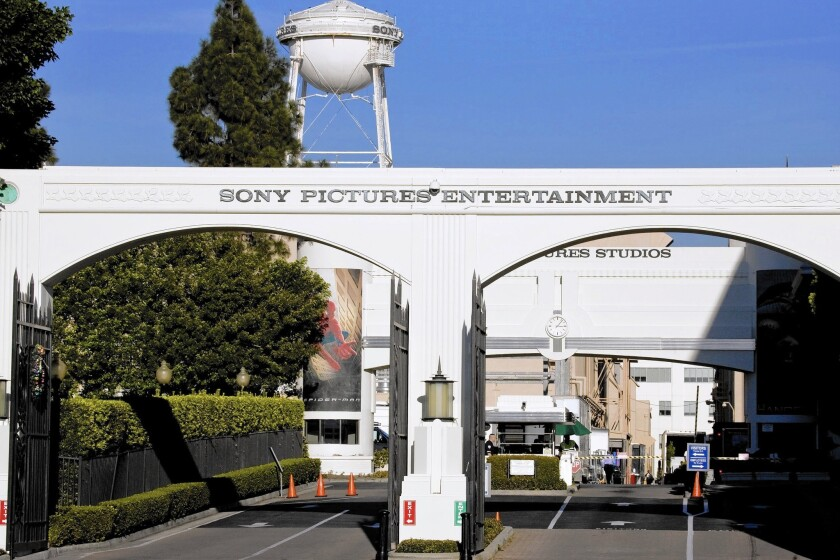 """Employees of Culver City-based Sony Pictures Entertainment who tried to log on to their work computers Nov. 24 were greeted with an image of a sneering red skeleton and the words """"Hacked By #GOP,"""" reportedly short for """"Guardians of Peace,"""" and a list of threats."""