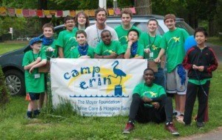 Jamie and Karen Moyer with campers. Courtesy photos
