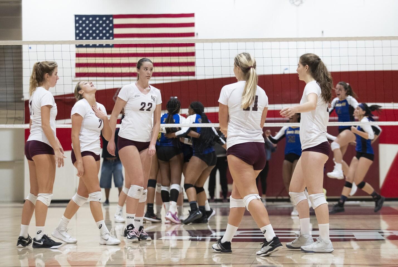 Photo Gallery: Laguna Beach vs. Quartz Hill in girls' volleyball