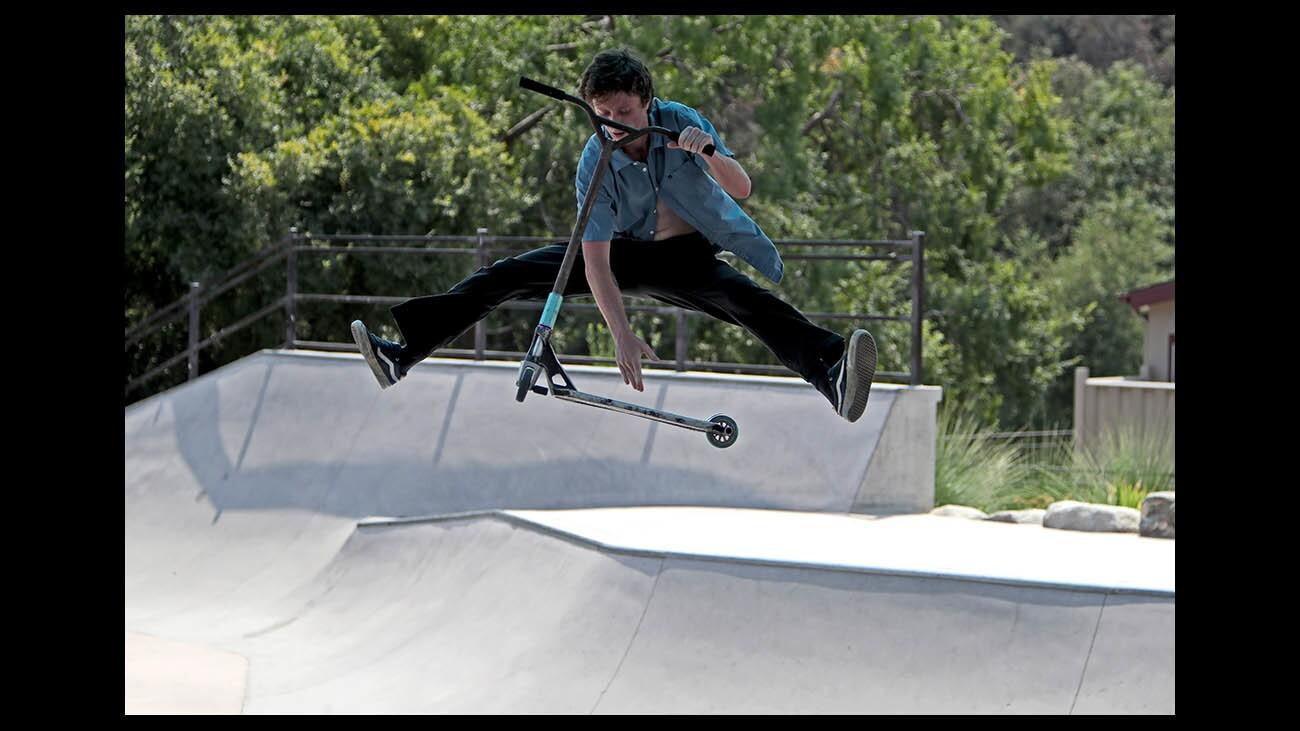 Photo Gallery:  Summer skating in La Crescenta
