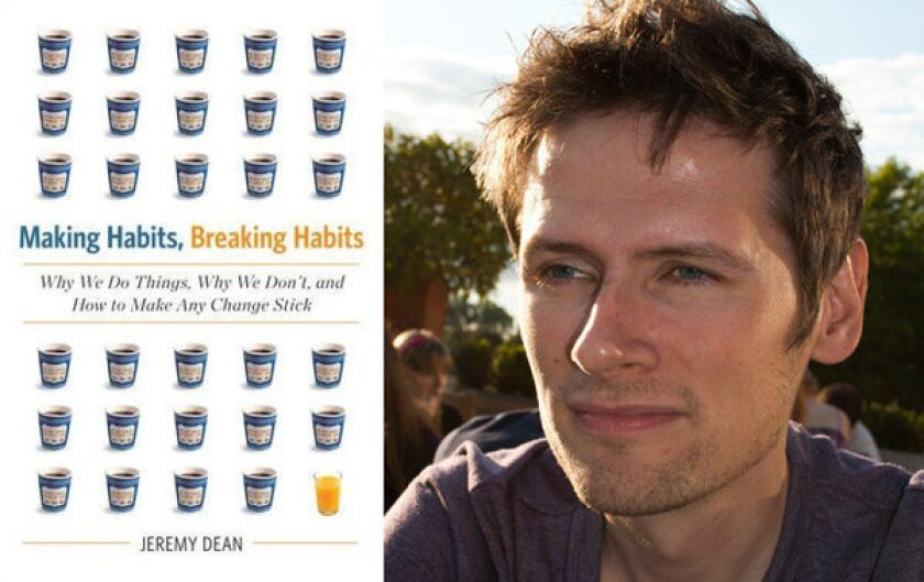 How to keep your 2013 resolutions: Jeremy Dean on 'Making Habits'