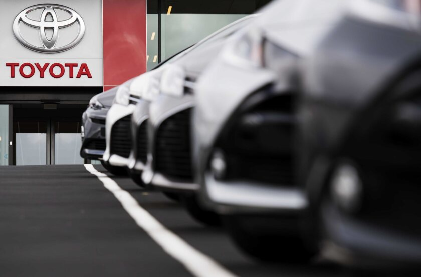 Toyota Motor Corp. is recalling 337,000 older vehicles for a third time over recurring suspension problems.