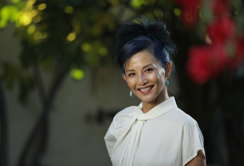 """Actress Tamlyn Tomita reprises her role from """"The Karate Kid Part II"""" the Netflix series """"Cobra Kai."""""""