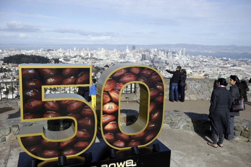 What time is Super Bowl 50?