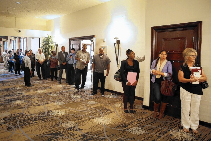 In 2015, L.A. County is forecast to regain jobs lost during recession