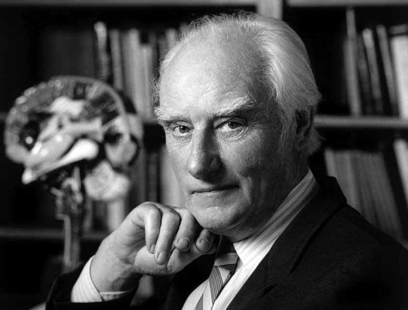 Francis Crick at the Salk Institute