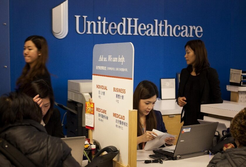 The nation's largest health insurer, UnitedHealth Group Inc., is seeking to join the Covered California exchange next year.