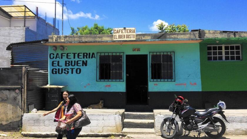 Foto de archivo de la ciudad de Guatemala.