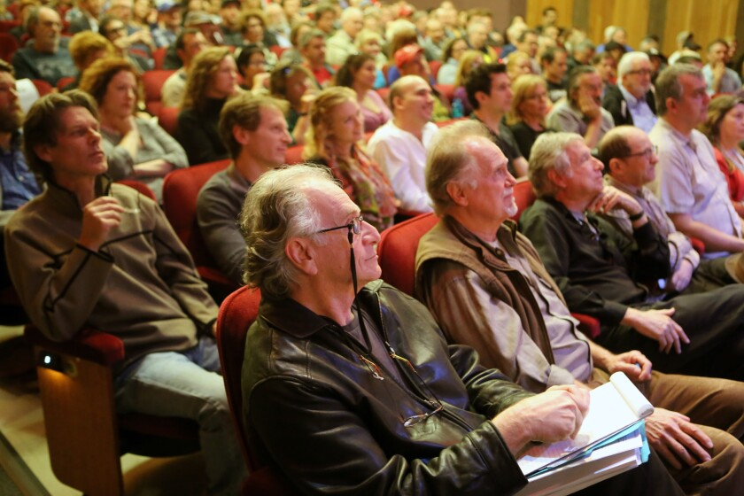 A packed L.A. town hall meeting in February centered on Actors' Equity's proposed changes to the 99-Seat Theater Plan. Proponents of change say actors should earn a minimum wage; critics say higher costs will force theaters to close or to change what kind of productions they mount.