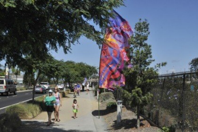 Coast Highway 101 will be transformed into a stage during Arts Alive Sept. 28 in Solana Beach. Photo by McKenzie Images