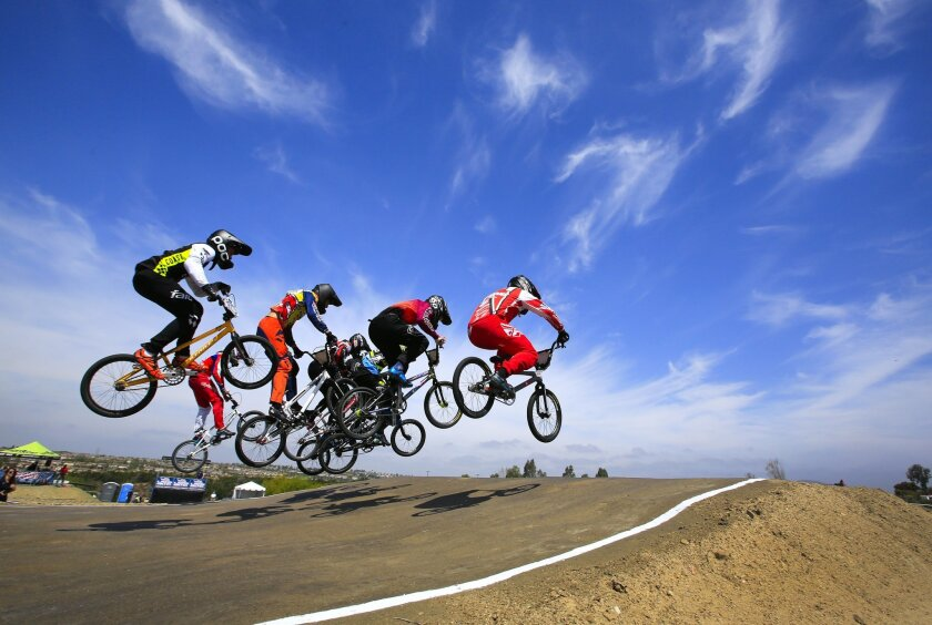 BMX riders competed in the Last Chance Qualifier (LCQ) at the Olympic Training Center, Friday, for the last open spot in the United States BMX Olympic Trials, to be held Saturday at the Olympic Training Center in Chula Vista.