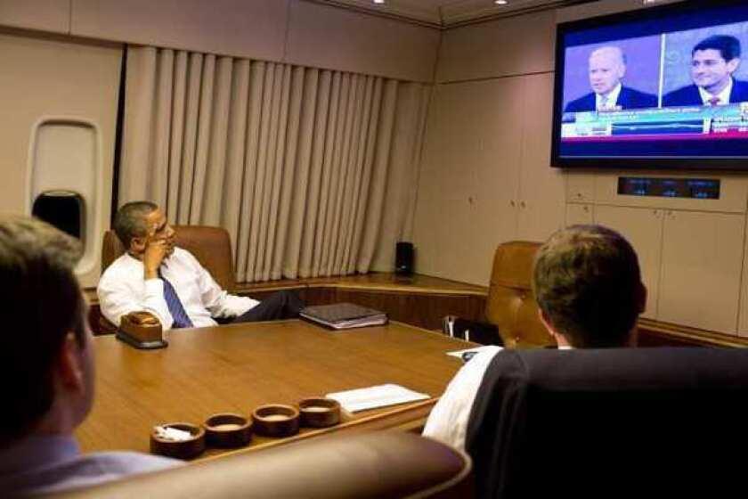 Obama quickly declares Biden debate performance 'terrific'