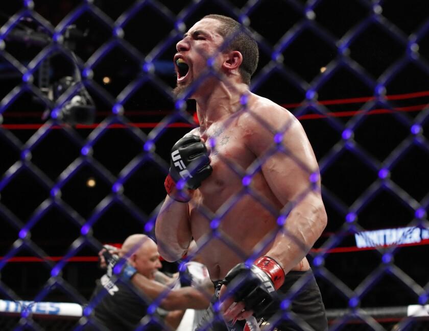APphoto_UFC 234 Mixed Martial Arts