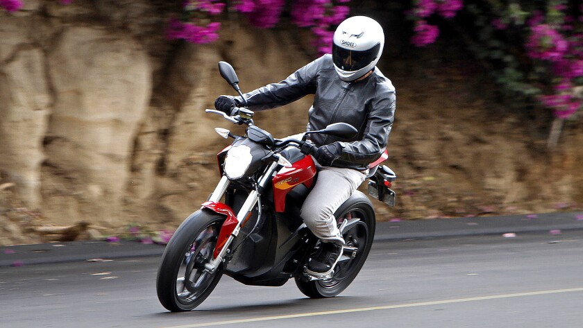 The Zero SR is Zero Motorcycles' top-of-the-line electric bike. It lists for $17,345.