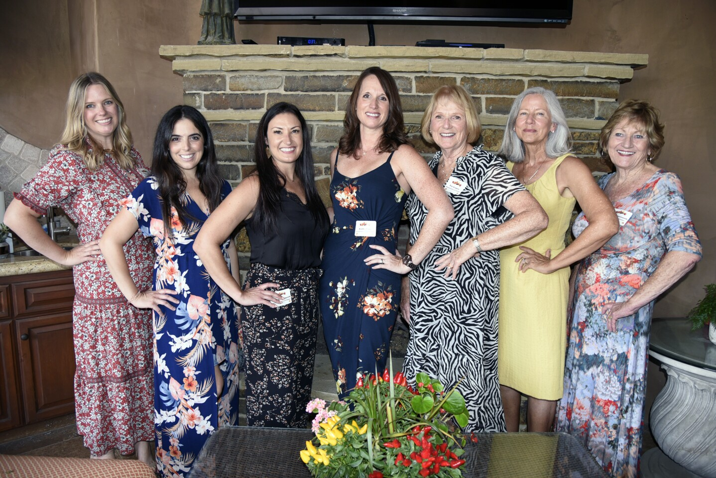 DreamKeepers Project Inc board members Mary Ashley Chenoweth, Alexis Ranglas-Behseta, Kristen Chenoweth, Vice President Pat Gregory, Kaitlin Tate, Secretary Debbie Weiner, President Sandi Chenoweth