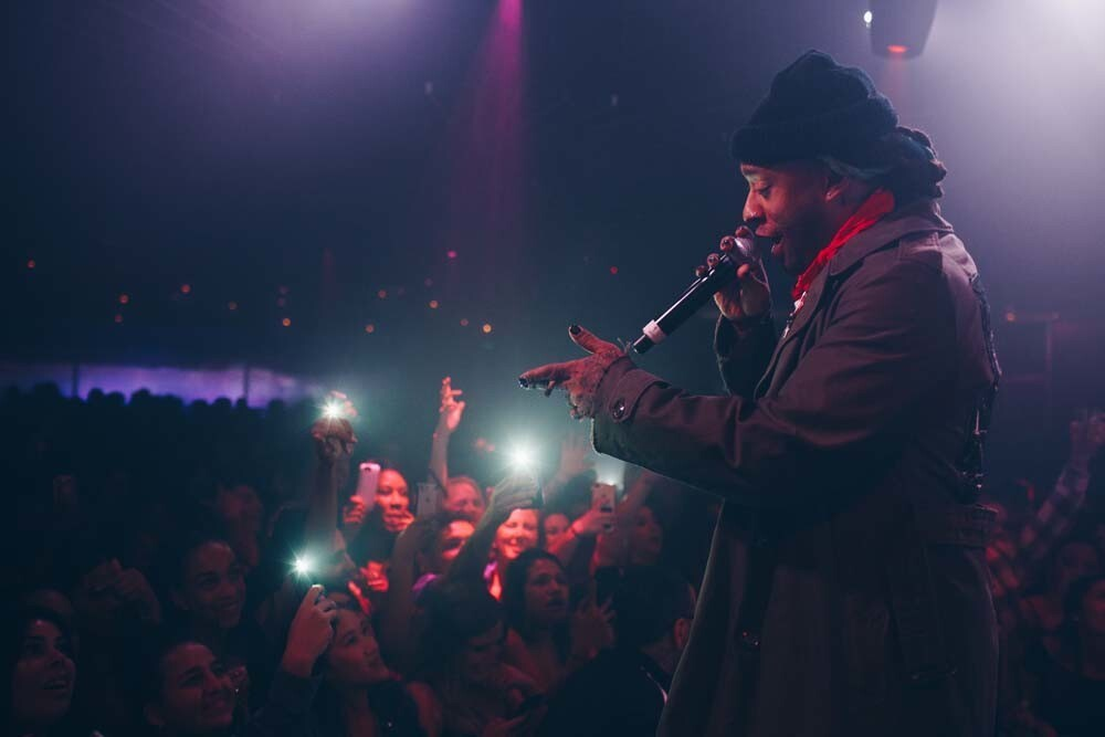 Singer, songwriter and producer Ty Dolla $ign hit up Fluxx nightclub on Thursday, April 5, 2018.