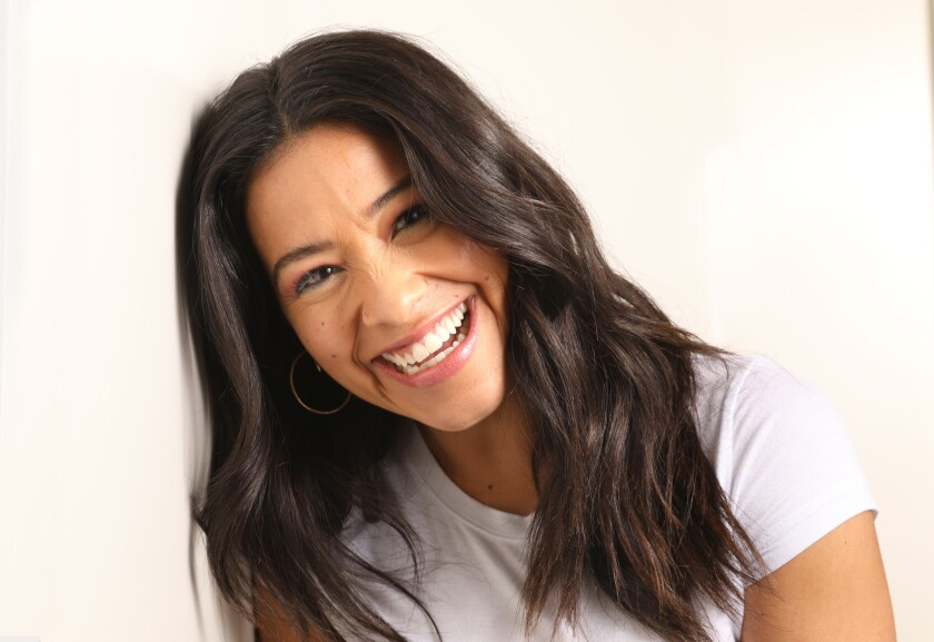 "LOS ANGELES, CALIFORNIA--JAN. 14, 2019--Actress Gina Rodriguez has a busy year ahead, starring in ""M"