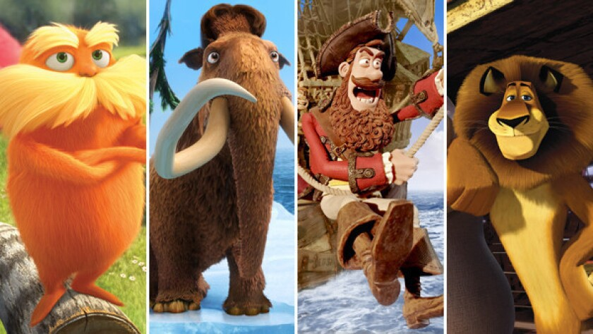 Pirates And Animals Made It A Big Year For Animated Films Los Angeles Times