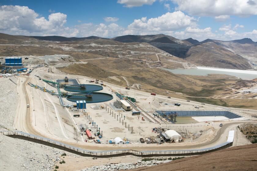 The Las Bambas mine in Peru.