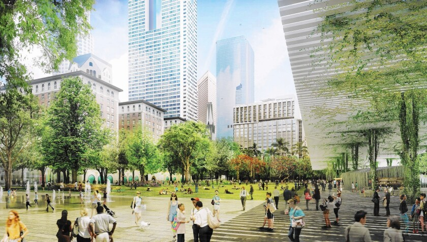 Pershing Square redesign
