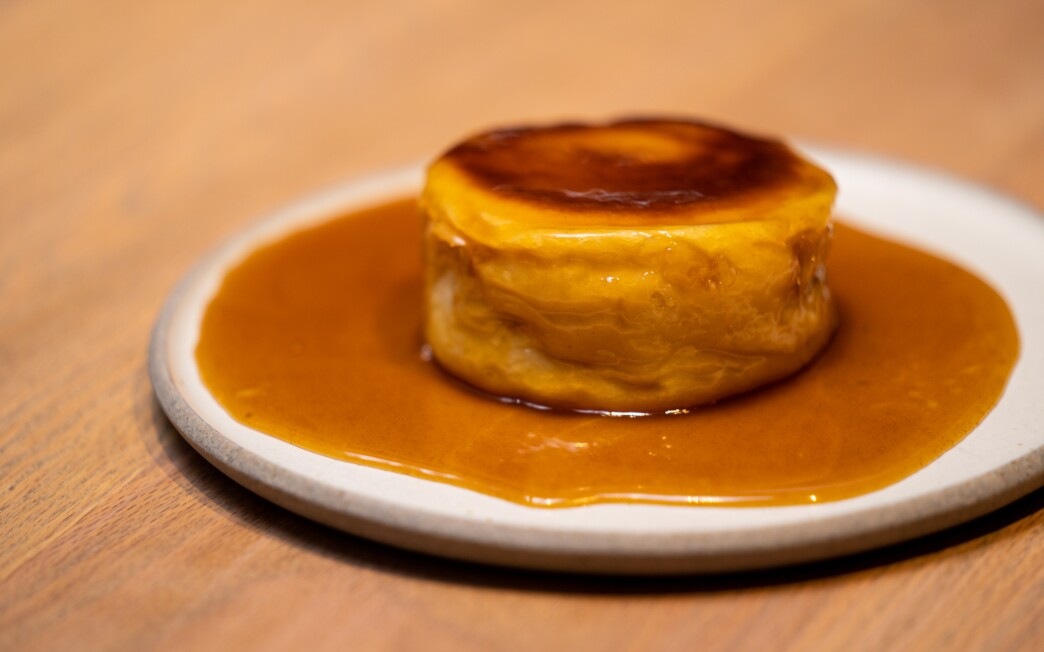 Pastry Chef Dyan Ng's pan-roasted honey butter brioche.
