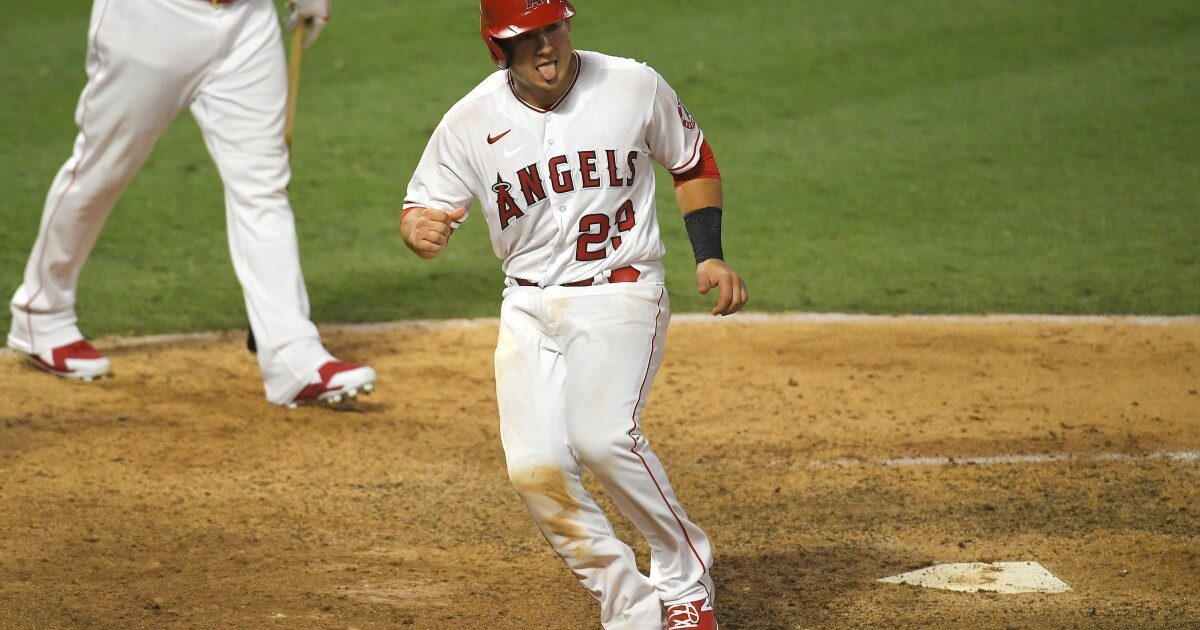 Angels recover to win as coronavirus plays havoc with MLB - Los Angeles Times
