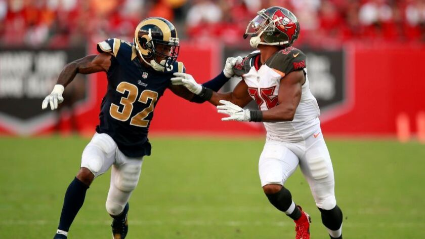Rams cut Troy Hill and make several experimental roster moves