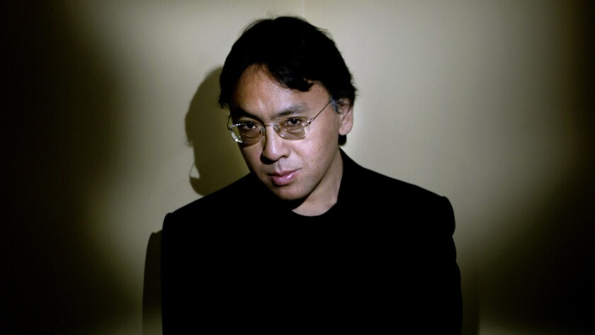 "Born in Japan and raised in Britain, Kazuo Ishiguro is best known for the novels ""The Remains of the Day"" and ""Never Let Me Go."""