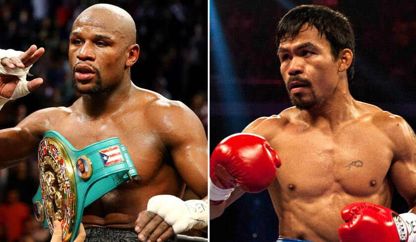 Floyd Mayweather Jr. and Manny Pacquiao finally agreed to fight on May 2 after tedious negotiations brokered by several people.