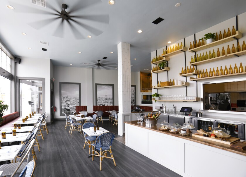 Coronado's new bistro and wine bar, Little Frenchie.