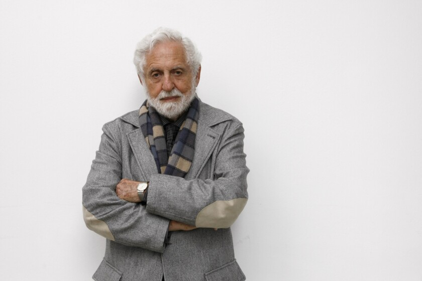 Carl Djerassi died at home in San Francisco.