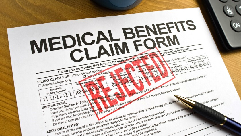 Experts say you shouldn't take no for an answer. Many denied insurance claims are reversed on appeal.