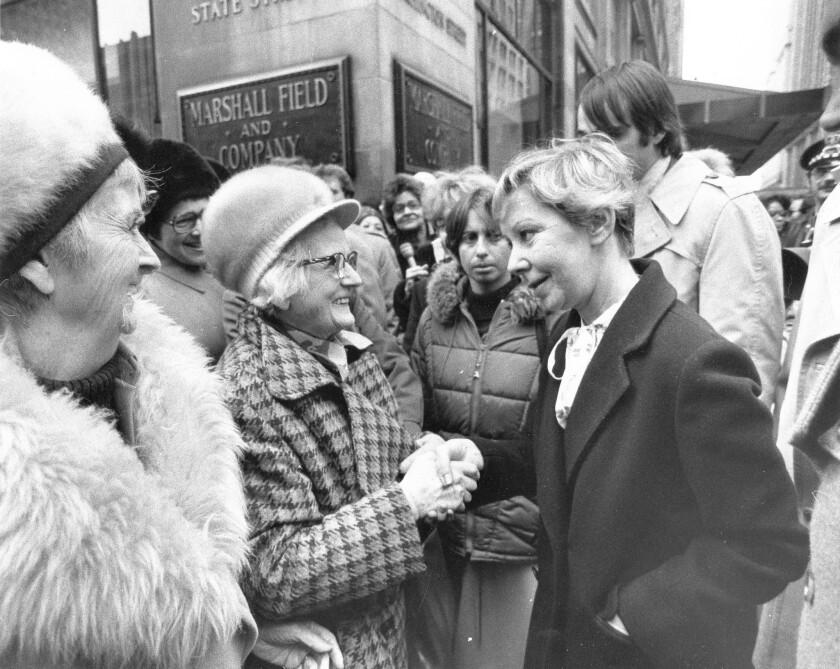 Jane Byrne obituary