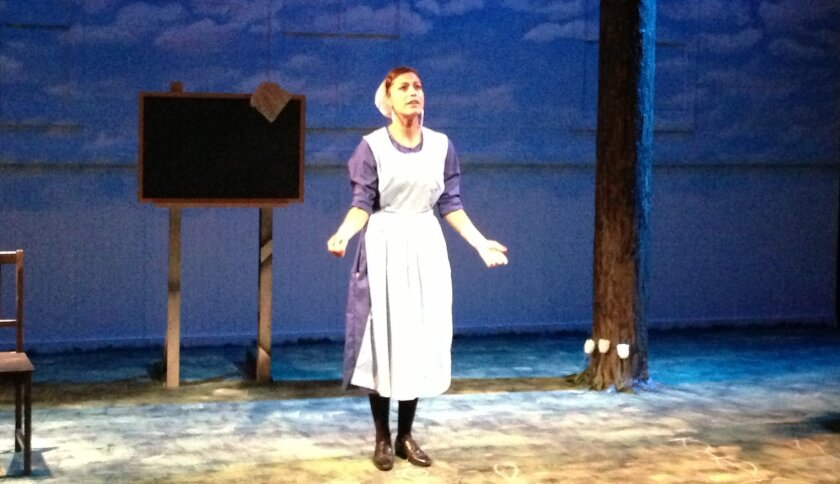 """Iliana Carter in Mo`olelo Performing Arts Co.'s """"The Amish Project."""""""
