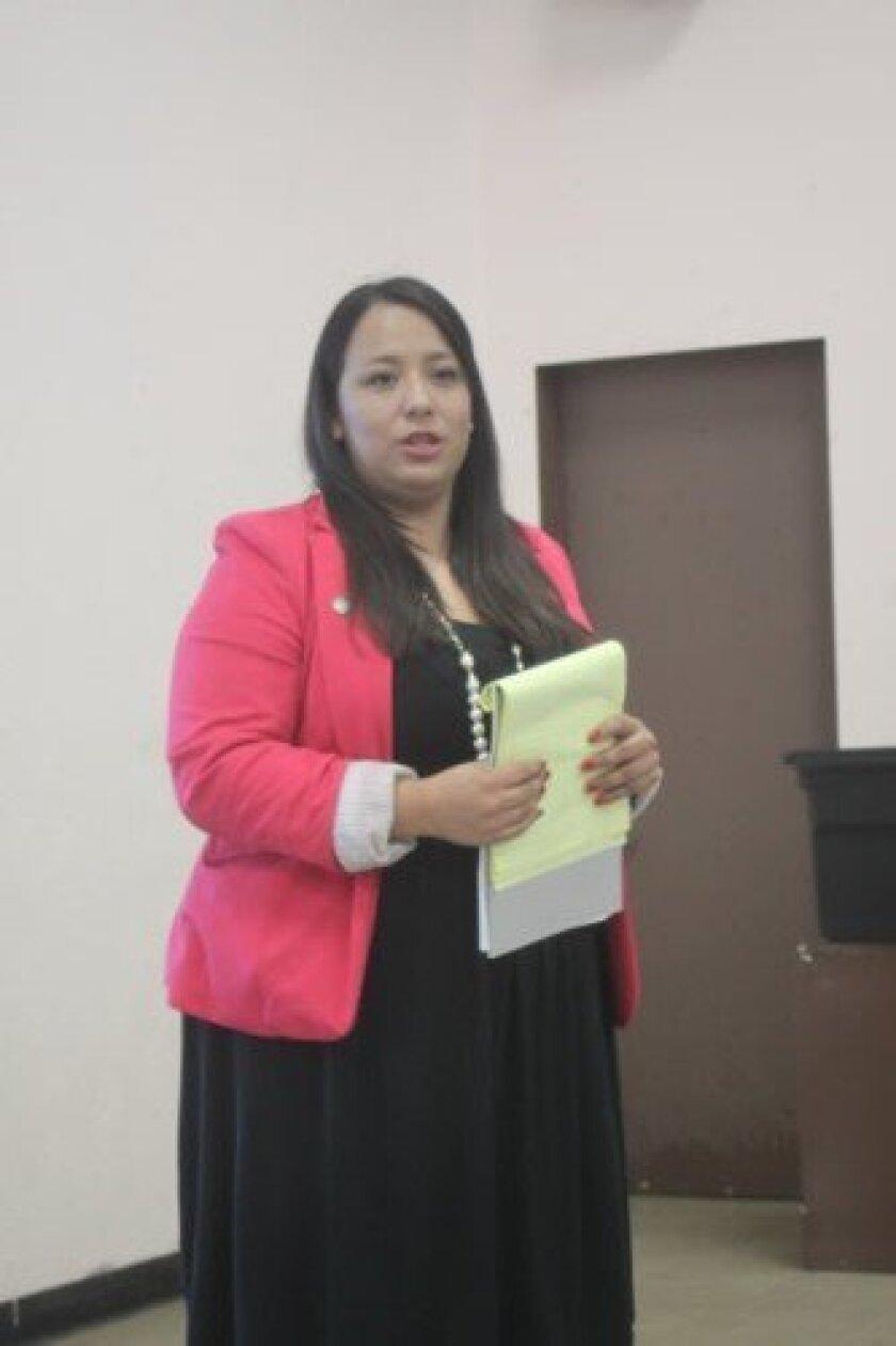 Francis Barraza is Mayor Kevin Faulconer's District 1 representative. Ashley Mackin