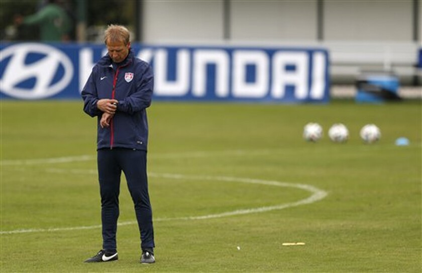 The next two weeks will be big for the U.S. and Juergen Klinsmann