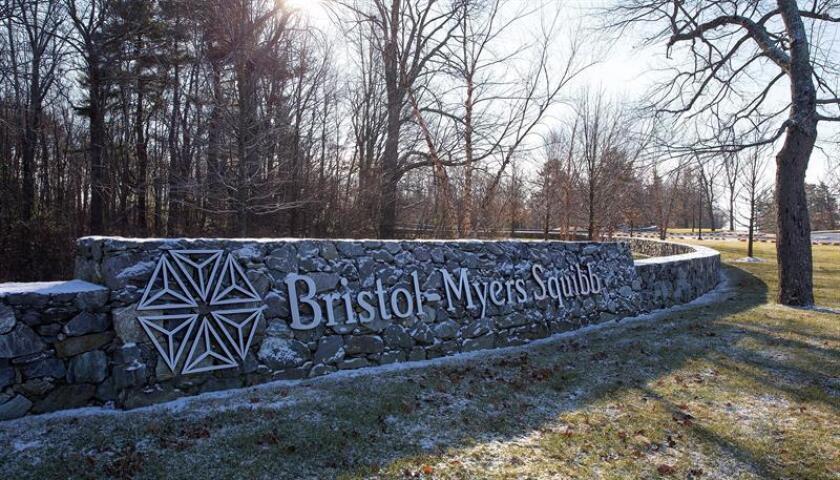 Vista general del campus del grupo farmaceútico Bristol-Myers Squibb en Devens, Massachusetts (Estados Unidos) hoy, 3 de enero de 2019. EFE